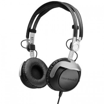 Beyerdynamic DT-1350-80 Closed Supraaural Headphone for Control and Monitoring Applications, Musicians, and DJ's, 80 Ohms image