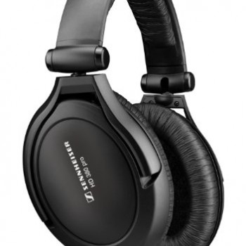 Sennheiser HD 380 Pro Collapsible High-End Headphone for Professional Monitoring Use (Black) image