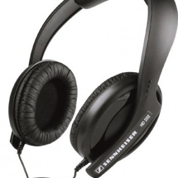 Sennheiser HD 202 II Professional Headphones (Black) image