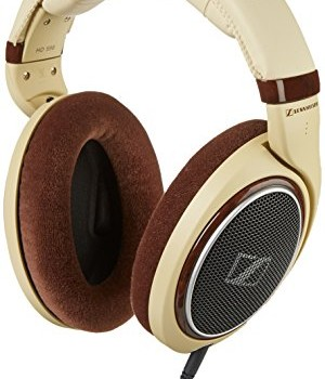 Sennheiser HD 598 Headphones (Burl Wood Accents) image