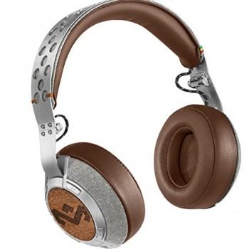 House of Marley EM- FH041-SD Liberate Saddle XLBT Bluetooth Wireless Headphones, Saddle image
