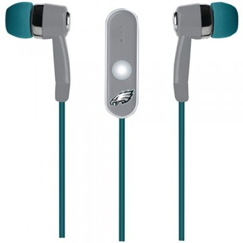 NFL Philadelphia Eagles Hands Free Ear Buds with Microphone image