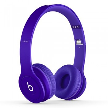 Beats Solo HD On-Ear Headphone (Drenched in Purple) image