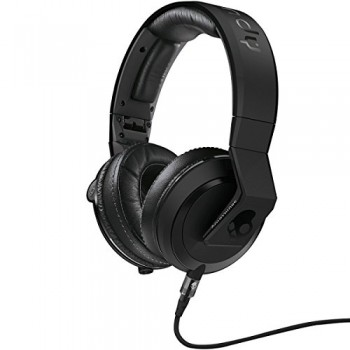 Skullcandy DJ Mix Master Mike Over Ear Headphones – Matte Black w/ Mic (S6MMDM-030) image
