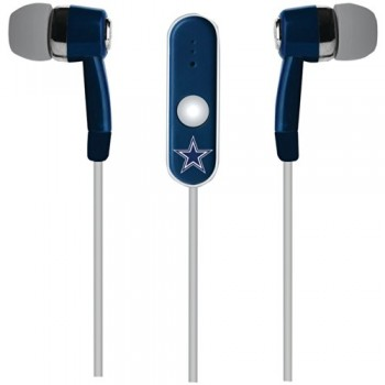 NFL Dallas Cowboys Hands Free Ear Buds with Microphone image