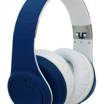 Fanny Wang 3000 Series Over-Ear Wangs Luxury Headphones with Active Noise Canceling and Apple Integrated Remote and Mic – Navy (FW-3003-NVY) image