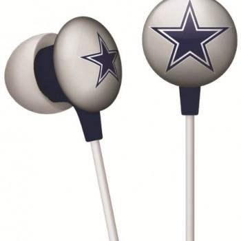 NFL Dallas Cowboys IHip Black Box Ear Buds Premium Headphones Licensed! image