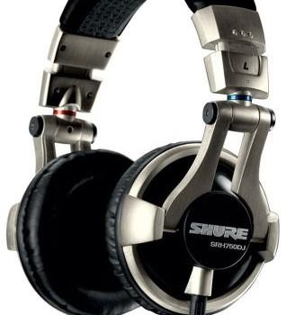 Shure Srh750dj Pro Studio & Dj Headphones – New image