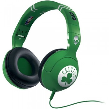 Skullcandy NBA Hesh 2.0 Celtics Rajon Rondo with Mic Sports Collection Wired Headphone – Green image