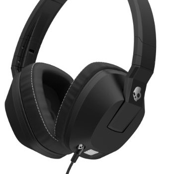 Skullcandy Crusher Over-Ear Headphones with Built-in Amplifier & Mic – Black image