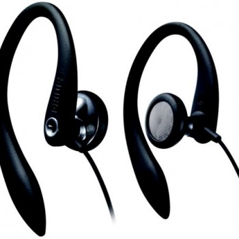 Philips Flexible Earhook Headphones SHS3200BK/37 image
