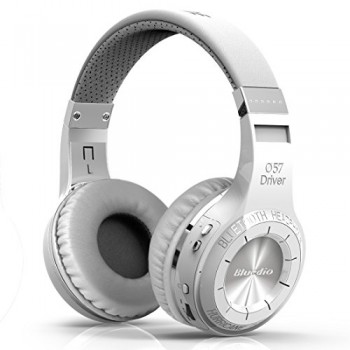 Bluedio HT(shooting Brake) Wireless Bluetooth 4.1 Stereo Headphones (White) image