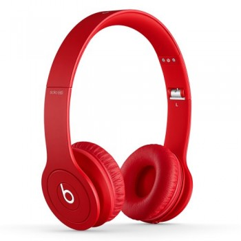 Beats Solo HD On-Ear Headphone (Drenched in Red) image