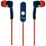 NFL New England Patriots Hands Free Ear Buds with Microphone thumbnail