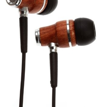 Symphonized NRG Premium Genuine Wood In-ear Noise-isolating Headphones with Mic (Black) image