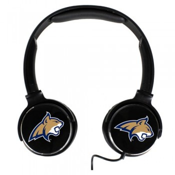 Montana State Fighting Bobcats Sonic Boom Headphones image