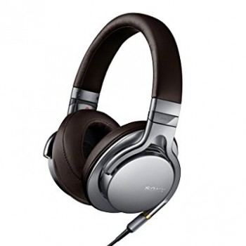 Sony MDR1A Premium Hi-Res Stereo Headphones (Silver) image