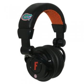 NCAA Florida Gators Pro DJ Headphones with Microphone image