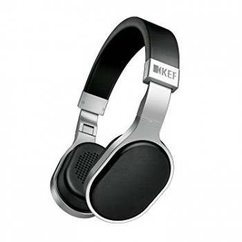 KEF M500 Hi-Fi On-Ear Headphones – Aluminum/Black image