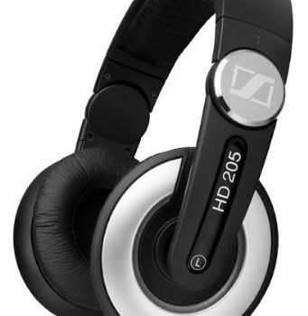 Sennheiser HD 205-II Studio Grade DJ Headphones (Black/Grey) image