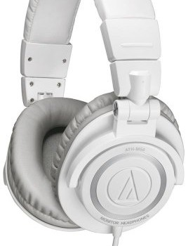 Audio Technica Athm50wh Pro Studio & Dj Headphones – White – New image