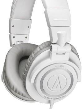 Audio Technica Athm50wh Pro Studio & Dj Headphones – White – New image