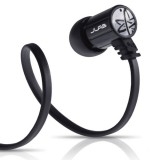 JLab JBuds J4 Heavy Bass Metal In-Ear Earbuds Style Headphones with Travel Case  (Obsidian Black) thumbnail