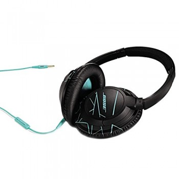 Bose SoundTrue Headphones Around-Ear Style, Black/Mint image