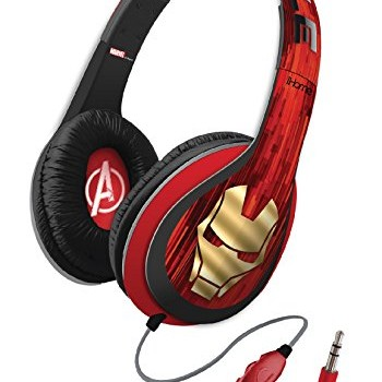 eKids Marvel Avengers Over the Ear Headphones with Volume Control, by iHome  – Vi-M40IM image