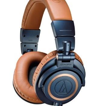 Audio-Technica ATH-M50xBL Professional Studio Monitor Headphones image