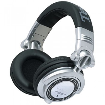 PANASONIC RP-DH1250-S DH1250 Technics Professional DJ Headphones with Detachable Microphone & Controller image