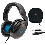 Sennheiser HD7 DJ Headphones with Case and Extension Cable Bundle thumbnail