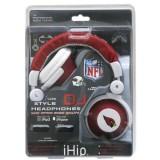 NFL Arizona Cardinals Team Logo DJ Headphone thumbnail