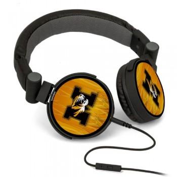 Missouri Tigers DJ Style Headphones Ghost NCAA image